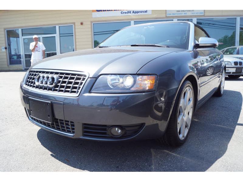 2005 Audi S4 AWD quattro 2dr Cabriolet - East Providence RI