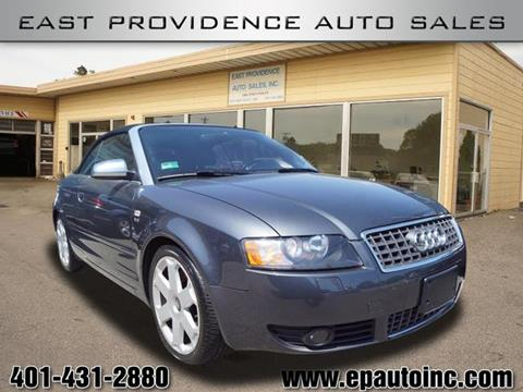 2005 Audi S4 for sale in East Providence, RI