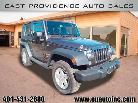 2014 Jeep Wrangler for sale in East Providence, RI