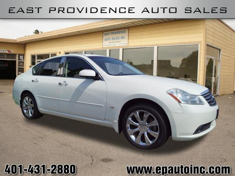 2006 Infiniti M35 Awd 4dr Sedan In East Providence Ri East