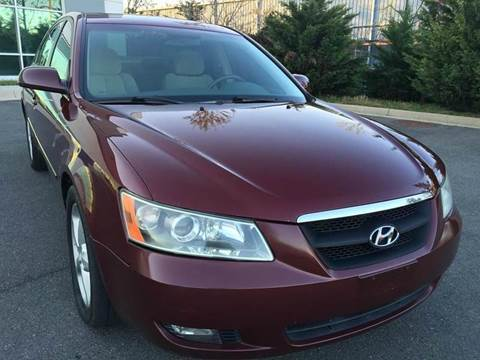 2007 Hyundai Sonata for sale at ECONO AUTO INC in Spotsylvania VA