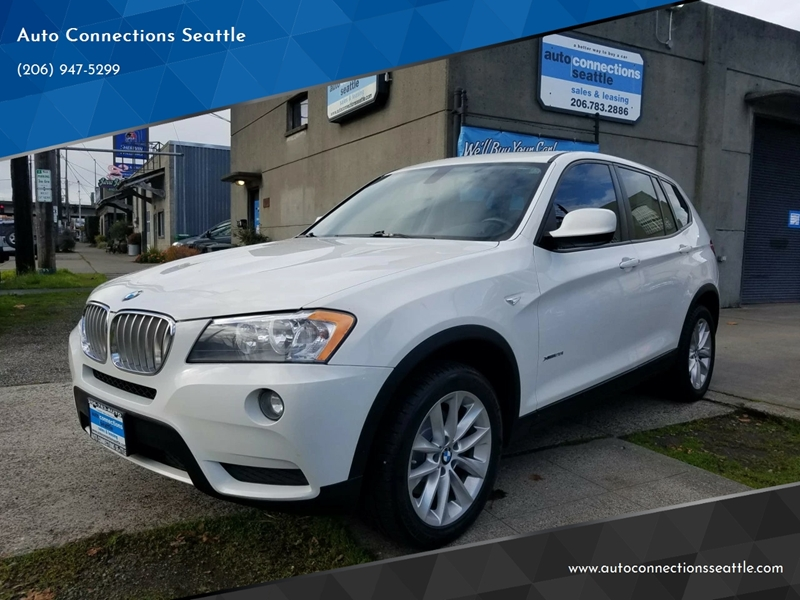 2013 Bmw X3 Awd Xdrive28i 4dr Suv In Seattle Wa Auto Connections