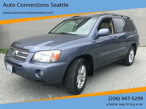 2006 Toyota Highlander Hybrid for sale in Seattle, WA