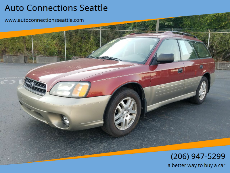 2003 Subaru Outback for sale at Auto Connections Seattle in Seattle WA