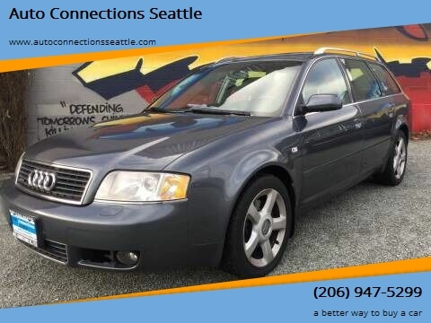 2004 Audi A6 for sale at Auto Connections Seattle in Seattle WA