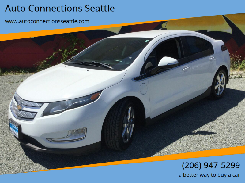 2015 Chevrolet Volt for sale at Auto Connections Seattle in Seattle WA
