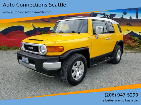 2007 Toyota FJ Cruiser for sale at Auto Connections Seattle in Seattle WA