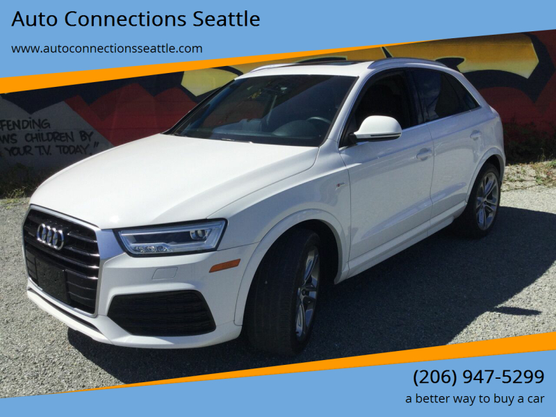2016 Audi Q3 for sale at Auto Connections Seattle in Seattle WA
