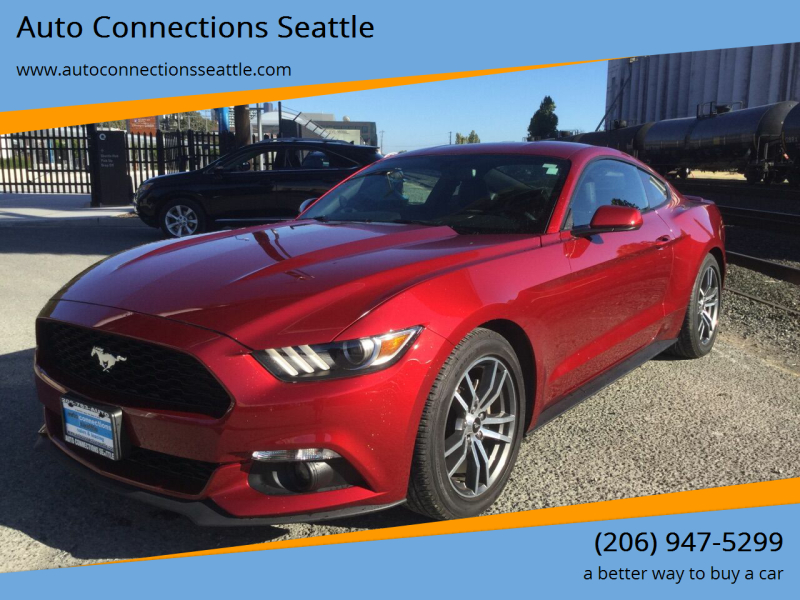 2016 Ford Mustang for sale at Auto Connections Seattle in Seattle WA