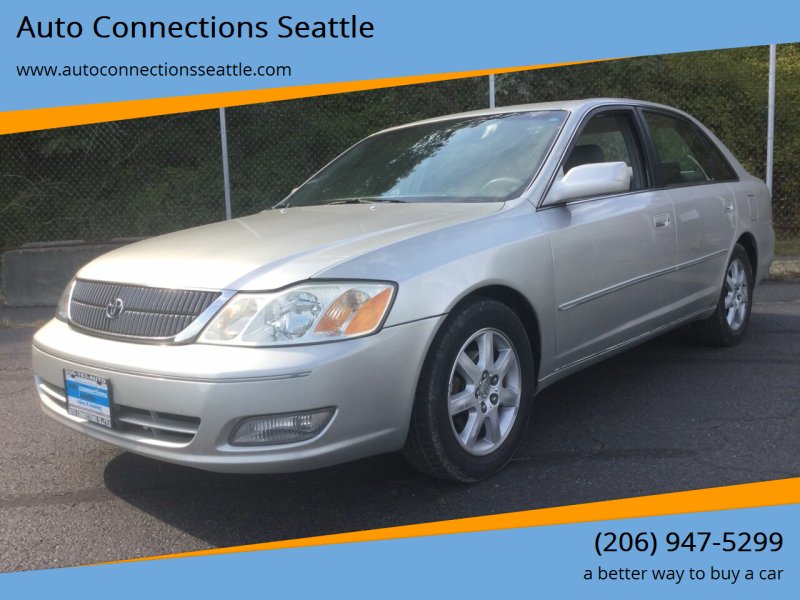 2001 Toyota Avalon for sale at Auto Connections Seattle in Seattle WA