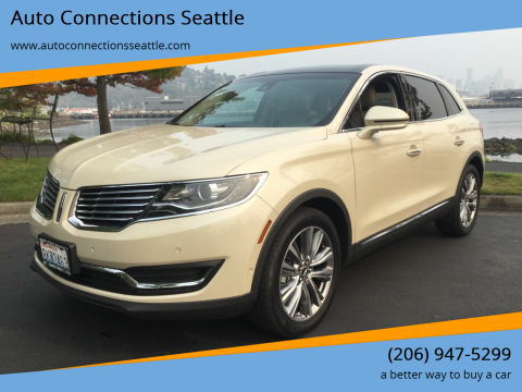 2018 Lincoln MKX for sale at Auto Connections Seattle in Seattle WA