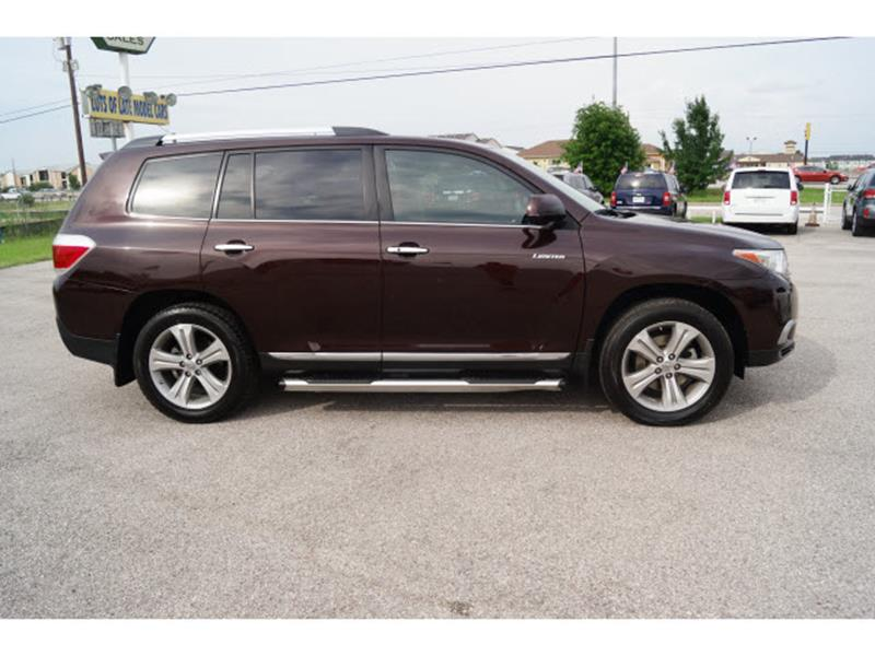 2012 Toyota Highlander Limited 4dr SUV - Houston TX