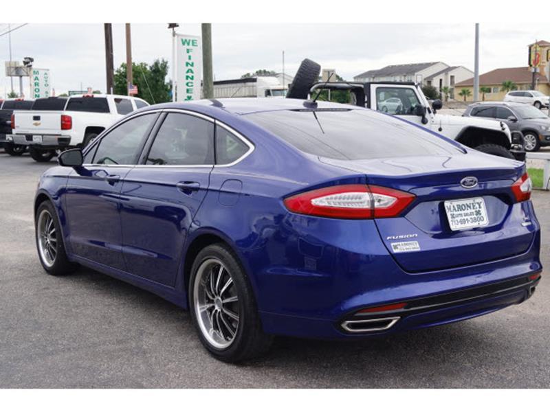 2014 Ford Fusion SE 4dr Sedan - Houston TX