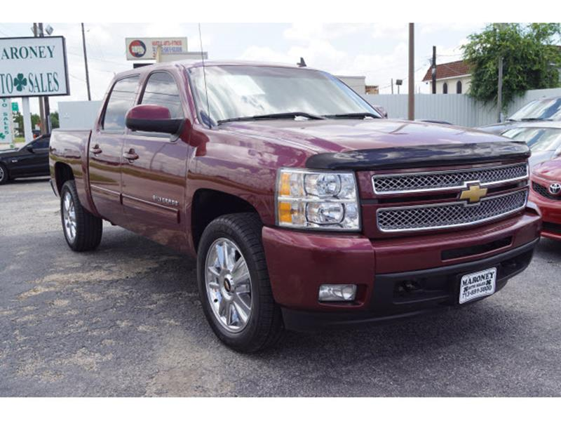 2013 Chevrolet Silverado 1500 4x2 LTZ 4dr Crew Cab 5.8 ft. SB - Houston TX