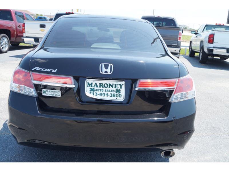 2012 Honda Accord EX 4dr Sedan 5M - Houston TX