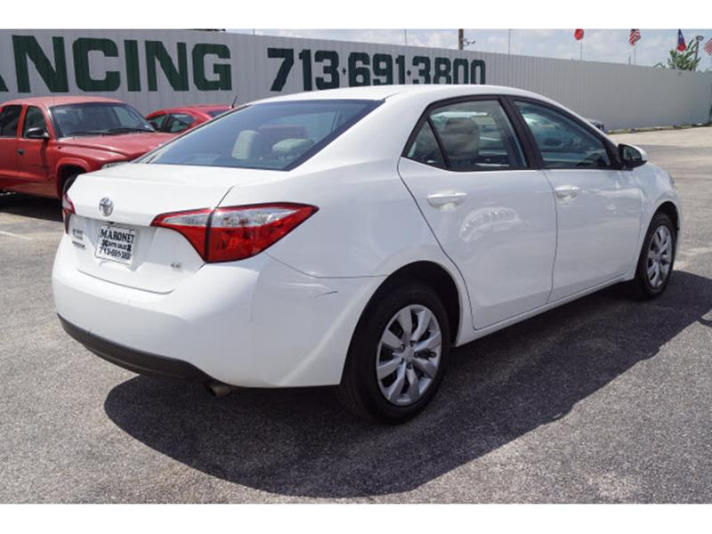 2016 Toyota Corolla LE 4dr Sedan - Houston TX