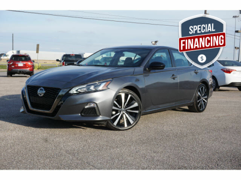 2020 Nissan Altima for sale at Maroney Auto Sales in Houston TX