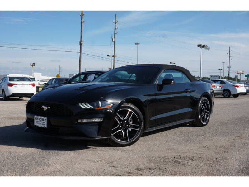 2020 Ford Mustang for sale at Maroney Auto Sales in Houston TX