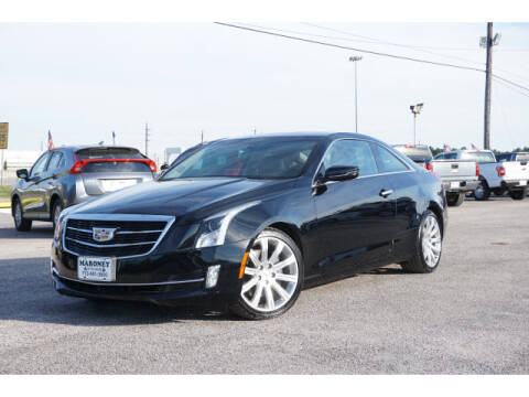 2016 Cadillac ATS for sale at Maroney Auto Sales in Houston TX