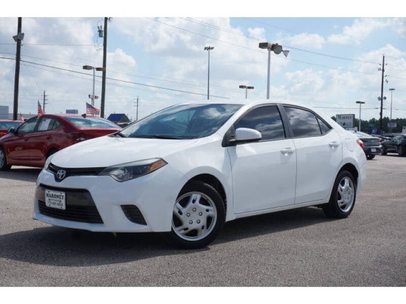 2015 Toyota Corolla for sale at Maroney Auto Sales in Houston TX