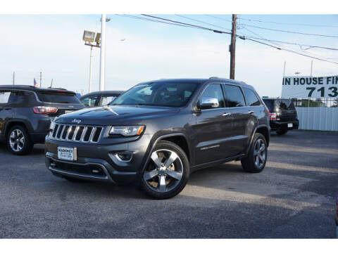 2014 Jeep Grand Cherokee for sale at Maroney Auto Sales in Houston TX