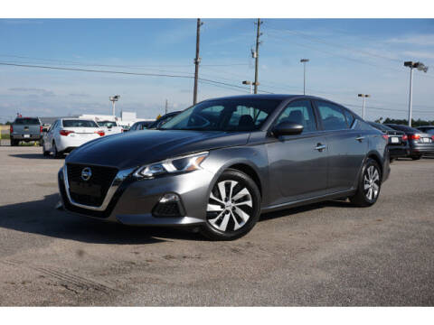 2019 Nissan Altima for sale at Maroney Auto Sales in Houston TX