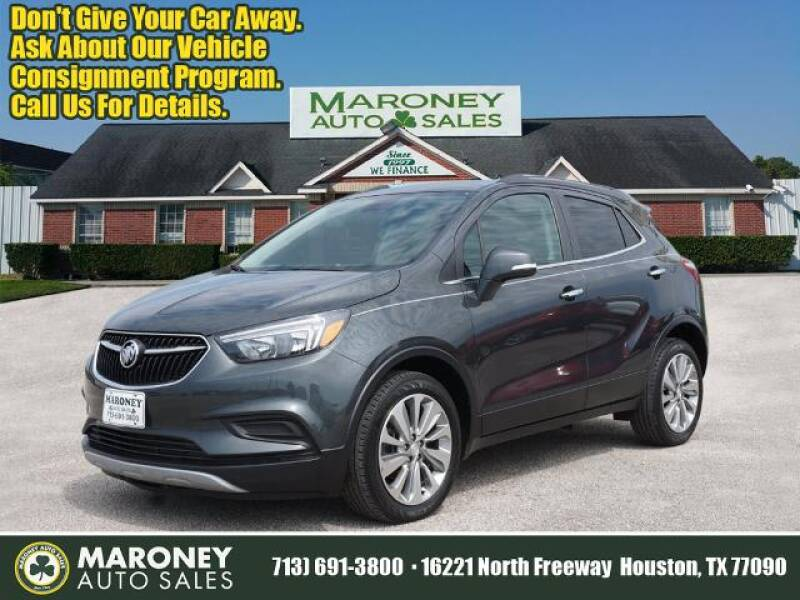 2017 Buick Encore for sale at Maroney Auto Sales in Houston TX
