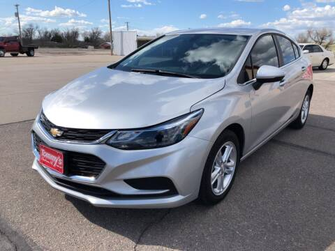 2018 Chevrolet Cruze for sale at Tommy's Car Lot in Chadron NE