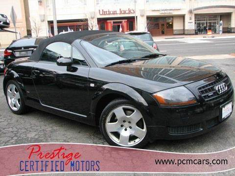 2003 Audi TT for sale at Prestige Certified Motors in Falls Church VA
