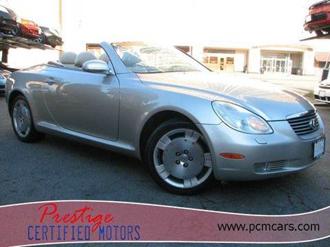 2003 Lexus SC 430 for sale at Prestige Certified Motors in Falls Church VA