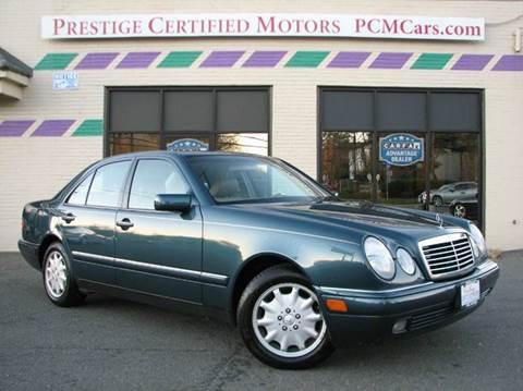 1999 Mercedes-Benz E-Class for sale at Prestige Certified Motors in Falls Church VA