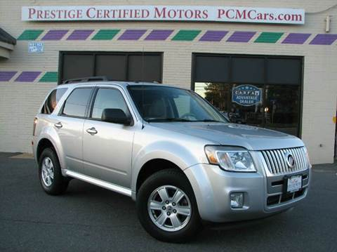 2010 Mercury Mariner for sale at Prestige Certified Motors in Falls Church VA