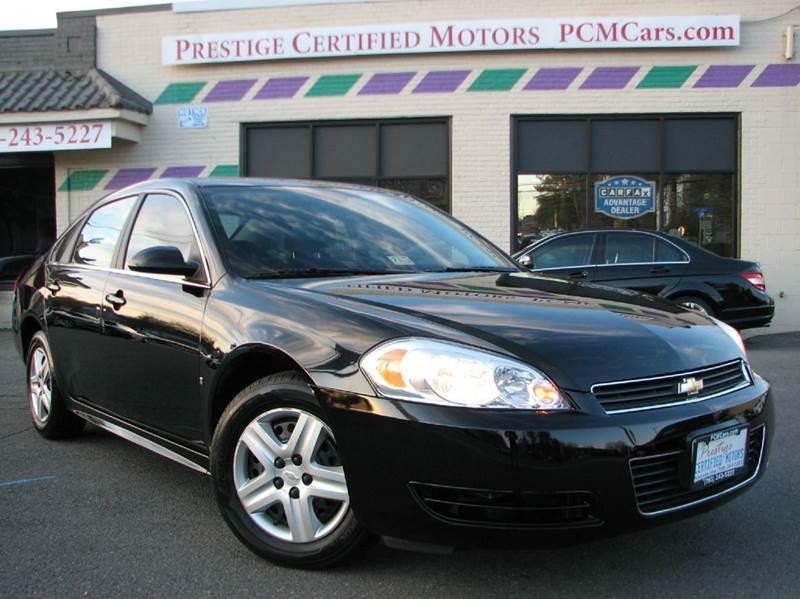 2010 Chevrolet Impala for sale at Prestige Certified Motors in Falls Church VA