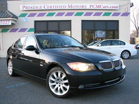 2006 BMW 3 Series for sale at Prestige Certified Motors in Falls Church VA