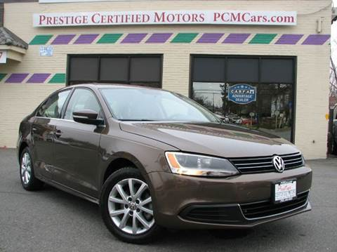2014 Volkswagen Jetta for sale at Prestige Certified Motors in Falls Church VA