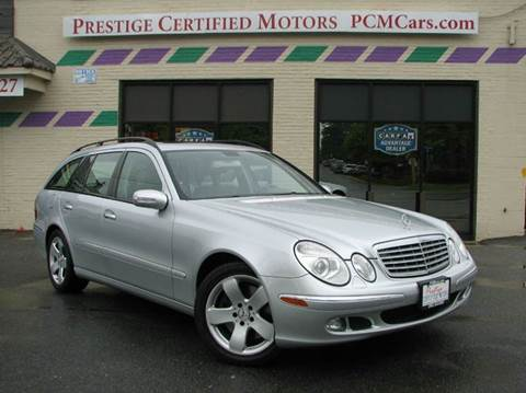 2006 Mercedes-Benz E-Class for sale at Prestige Certified Motors in Falls Church VA