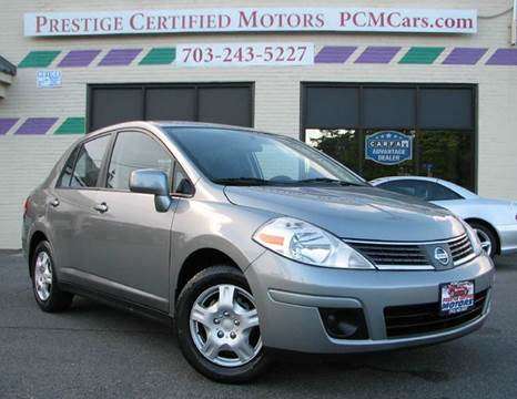 2009 Nissan Versa for sale at Prestige Certified Motors in Falls Church VA