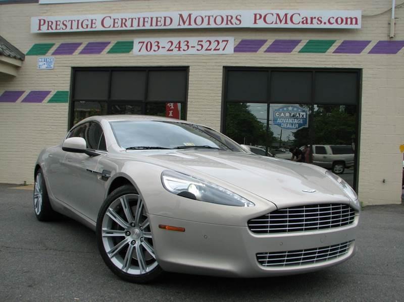 2010 Aston Martin Rapide for sale at Prestige Certified Motors in Falls Church VA