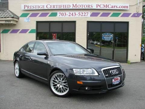 2007 Audi A6 for sale at Prestige Certified Motors in Falls Church VA
