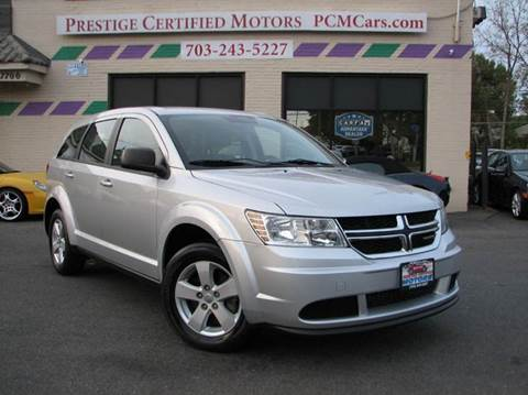 2013 Dodge Journey for sale at Prestige Certified Motors in Falls Church VA