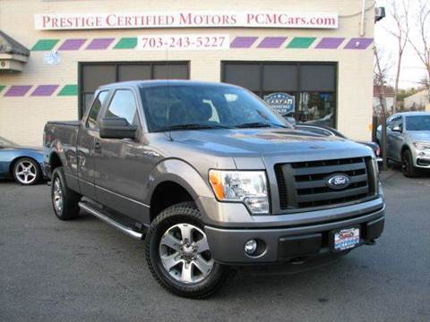 2011 Ford F-150 for sale at Prestige Certified Motors in Falls Church VA