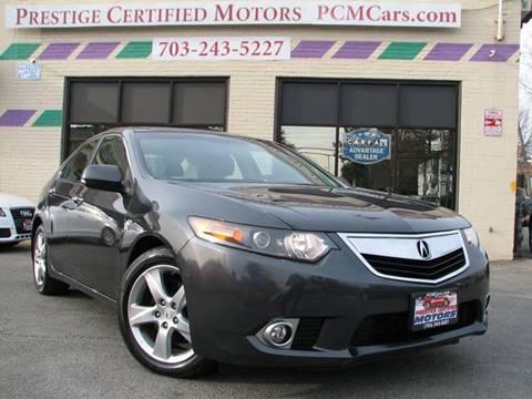 2013 Acura TSX for sale in Falls Church, VA