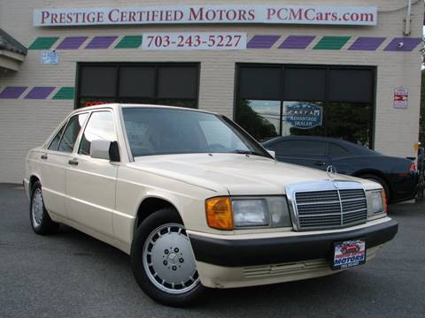 1993 Mercedes-Benz 190-Class for sale in Falls Church, VA