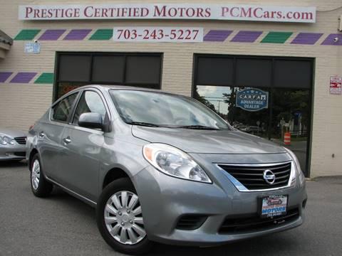 Used Nissan Versa >> 2012 Nissan Versa For Sale In Falls Church Va