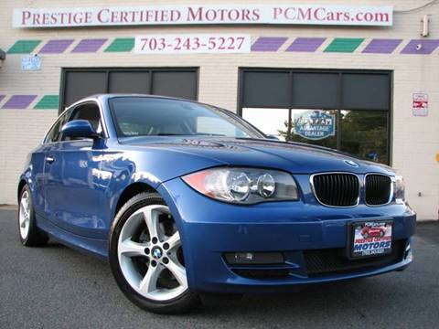 2008 BMW 1 Series for sale in Falls Church, VA