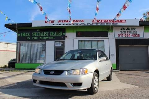 2001 Toyota Corolla for sale in Lansing, MI