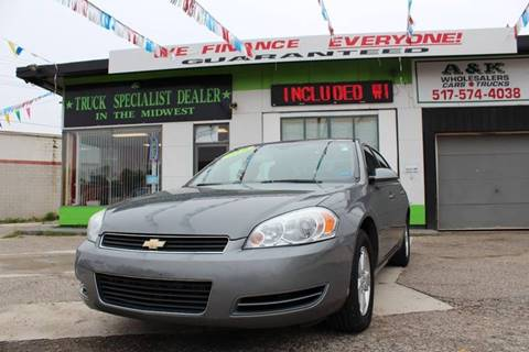 2010 Chevrolet Impala for sale in Lansing, MI