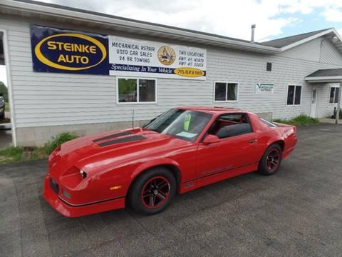 1986 Chevrolet Camaro for sale in Clintonville, WI