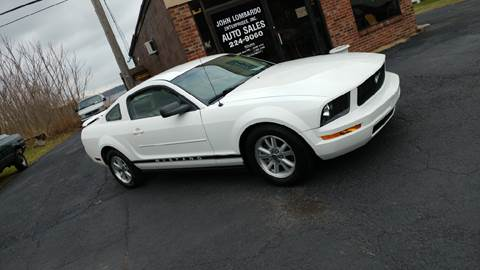 2006 Ford Mustang for sale at John Lombardo Enterprises Inc in Rochester NY