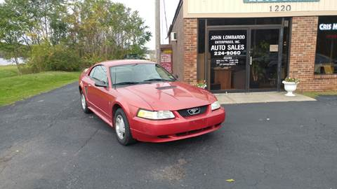 2000 Ford Mustang for sale at John Lombardo Enterprises Inc in Rochester NY